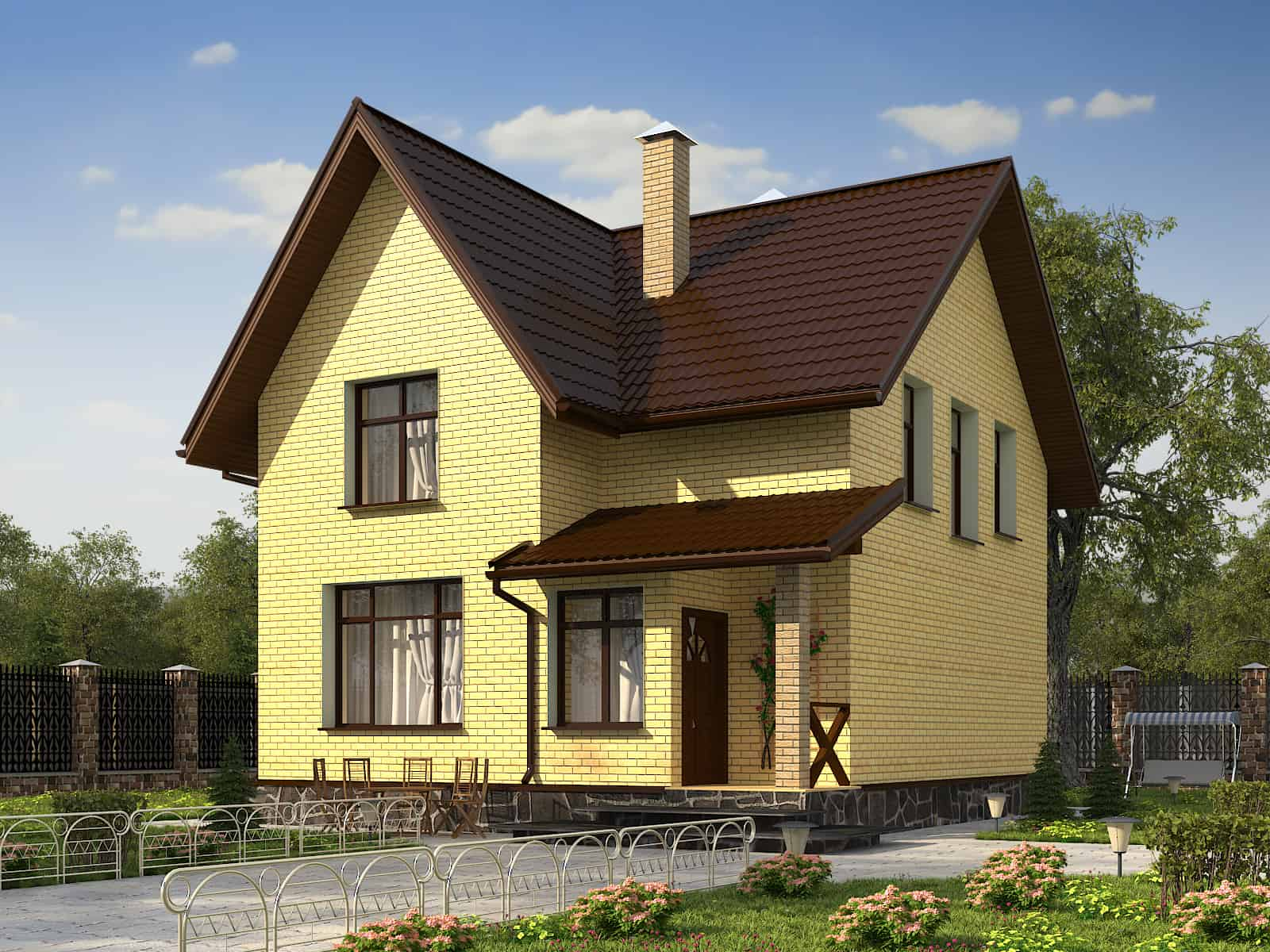 Строительство дома из газобетона в д. «Мухоловка»