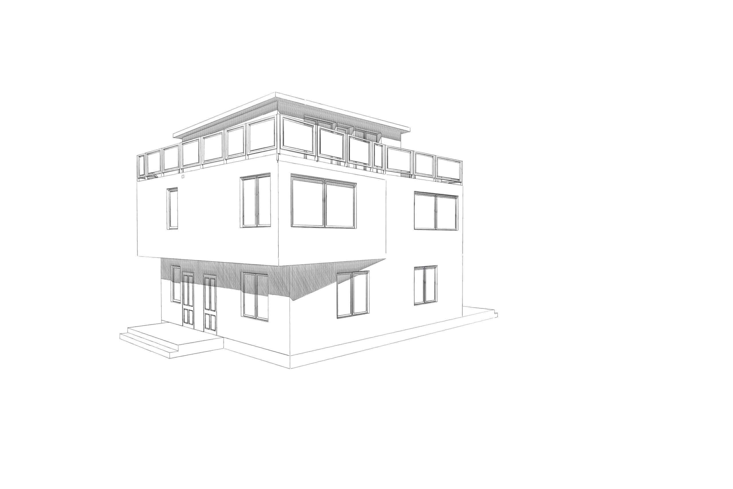 """Бетонный фундамент под трёхэтажный коттедж в д. """"Тиммолово"""", 2017 год"""