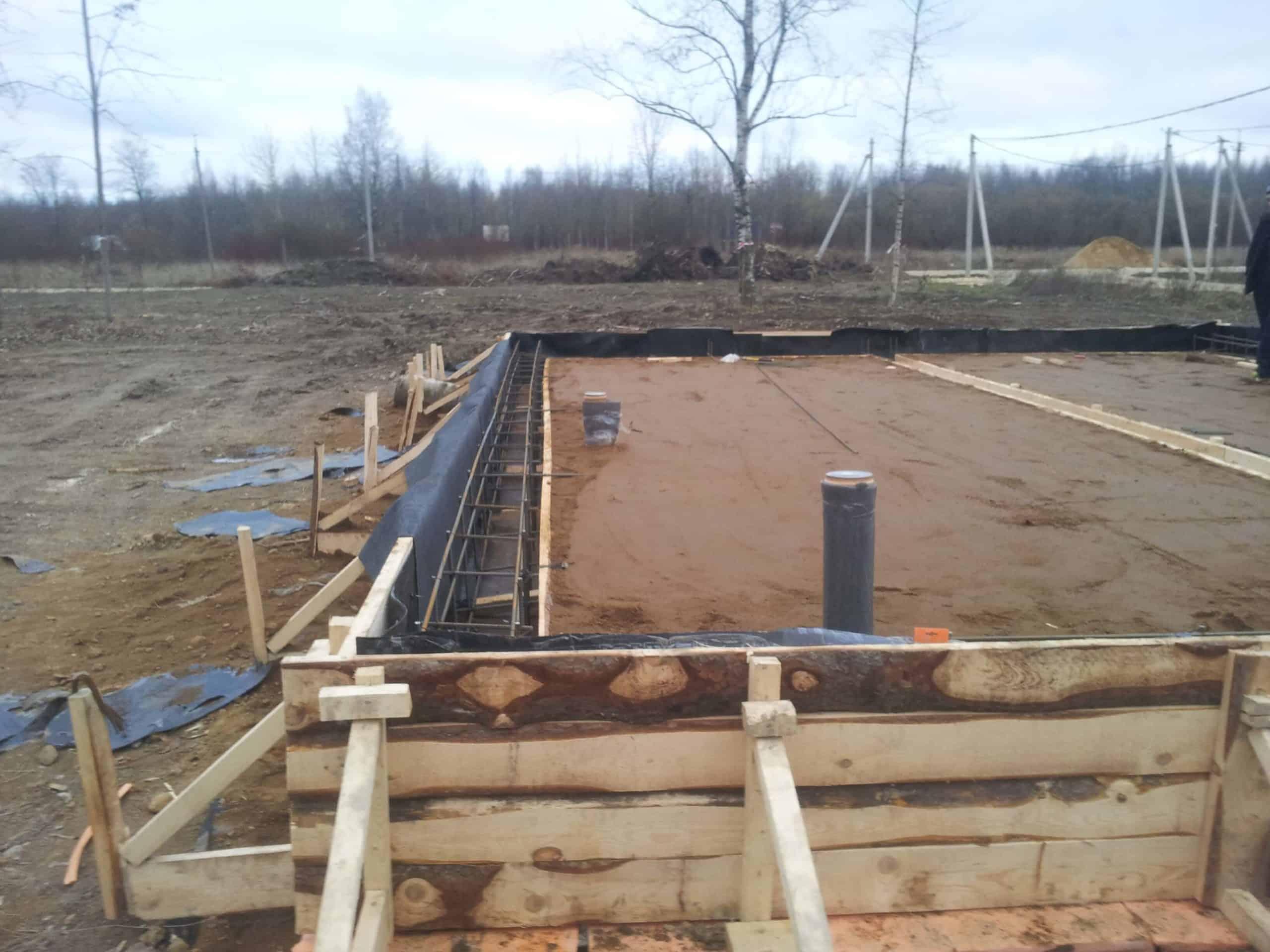 Строительство дома по технологии «Дюрисол» в Красном Селе