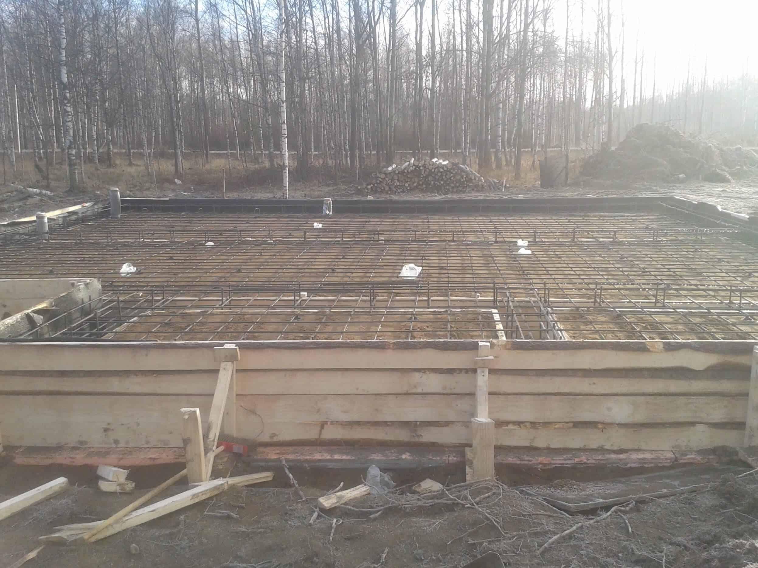 Строительство дома из газобетона по типовому проекту «Форпост»