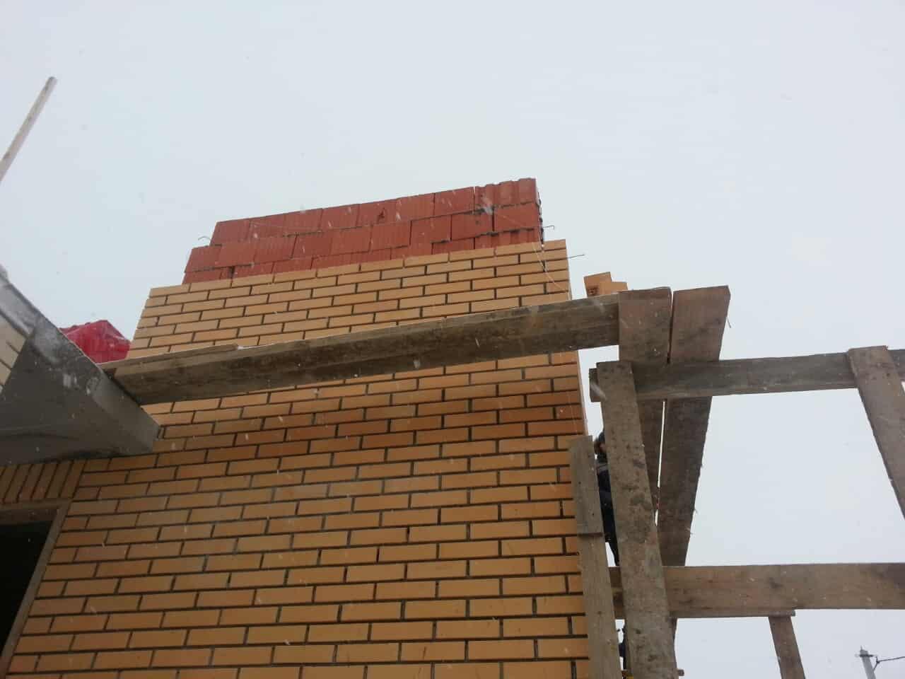 Строительство дома из керамических блоков в КП «Подсолнухи»