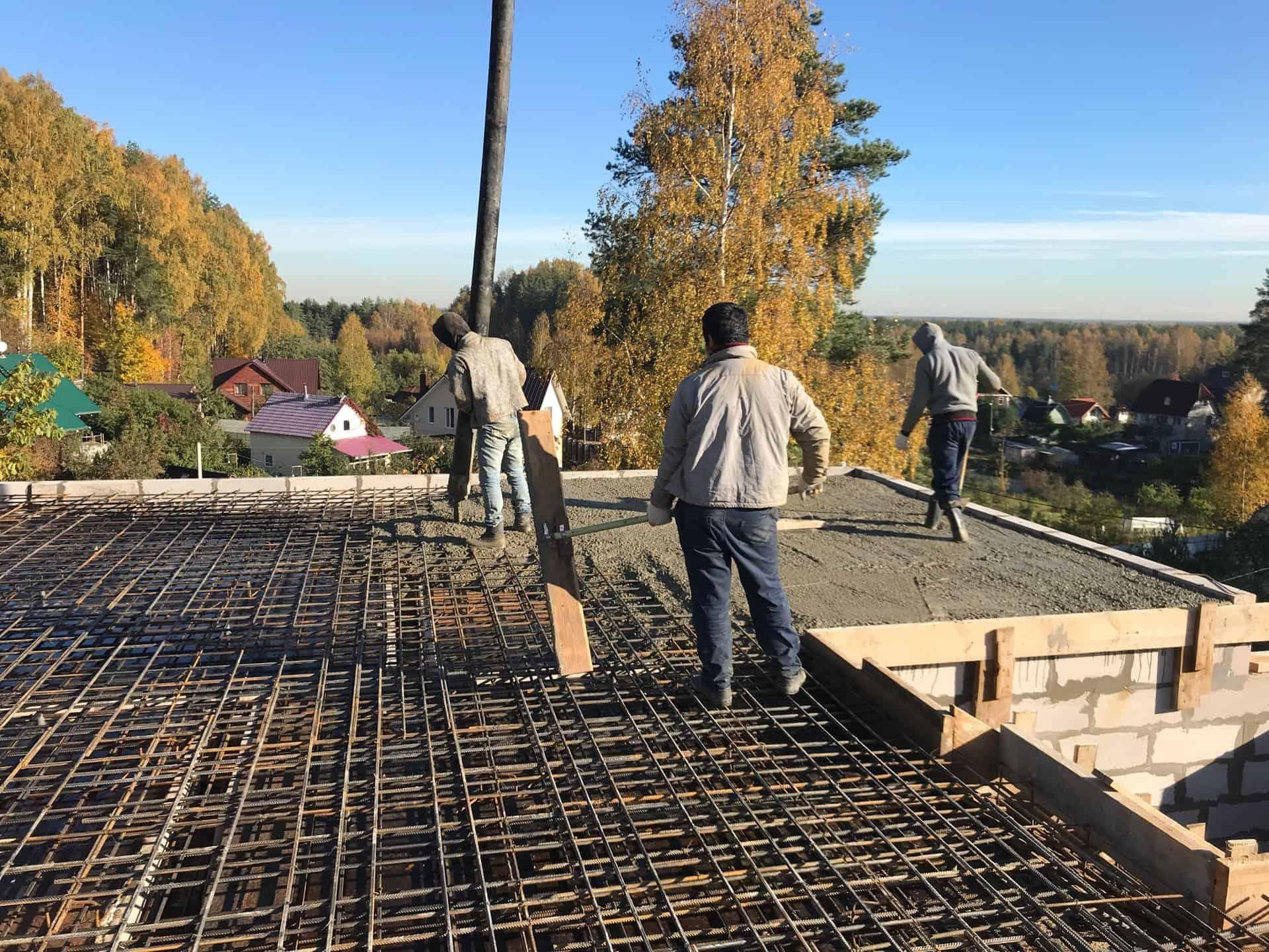 Строительство дома из газобетона в посёлке «Воейково»