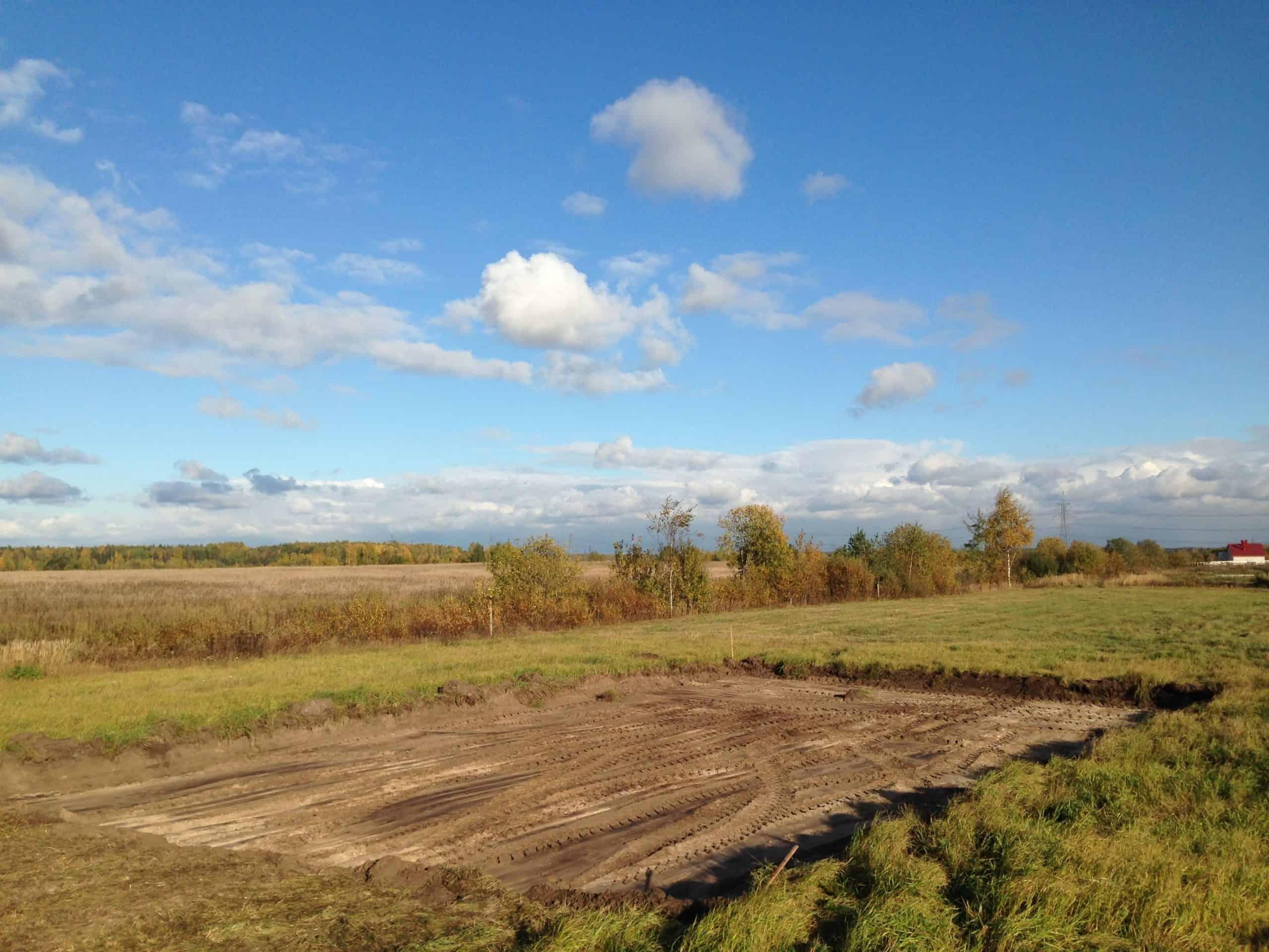 Монтаж фундамента в деревне «Райкузи»