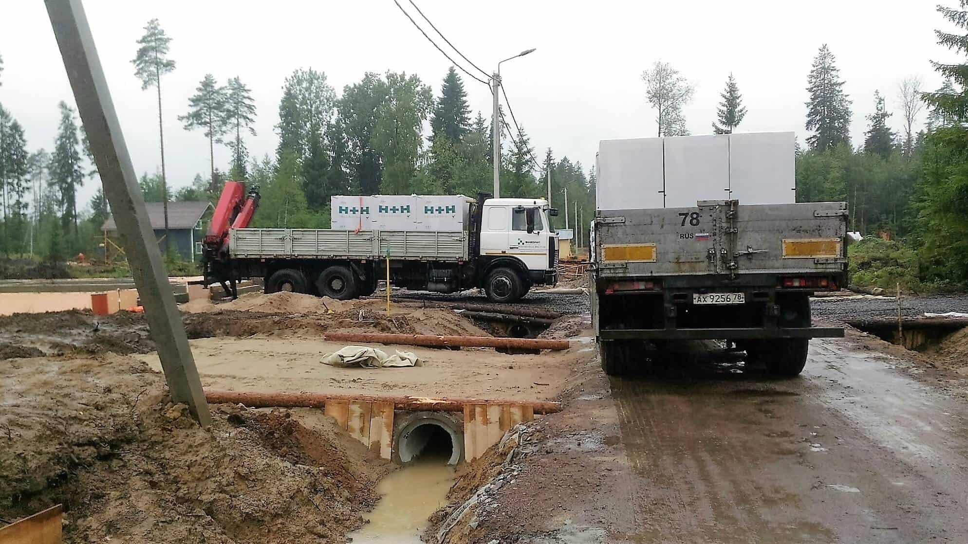 """Дом из газобетона в КП """"Савоя"""""""