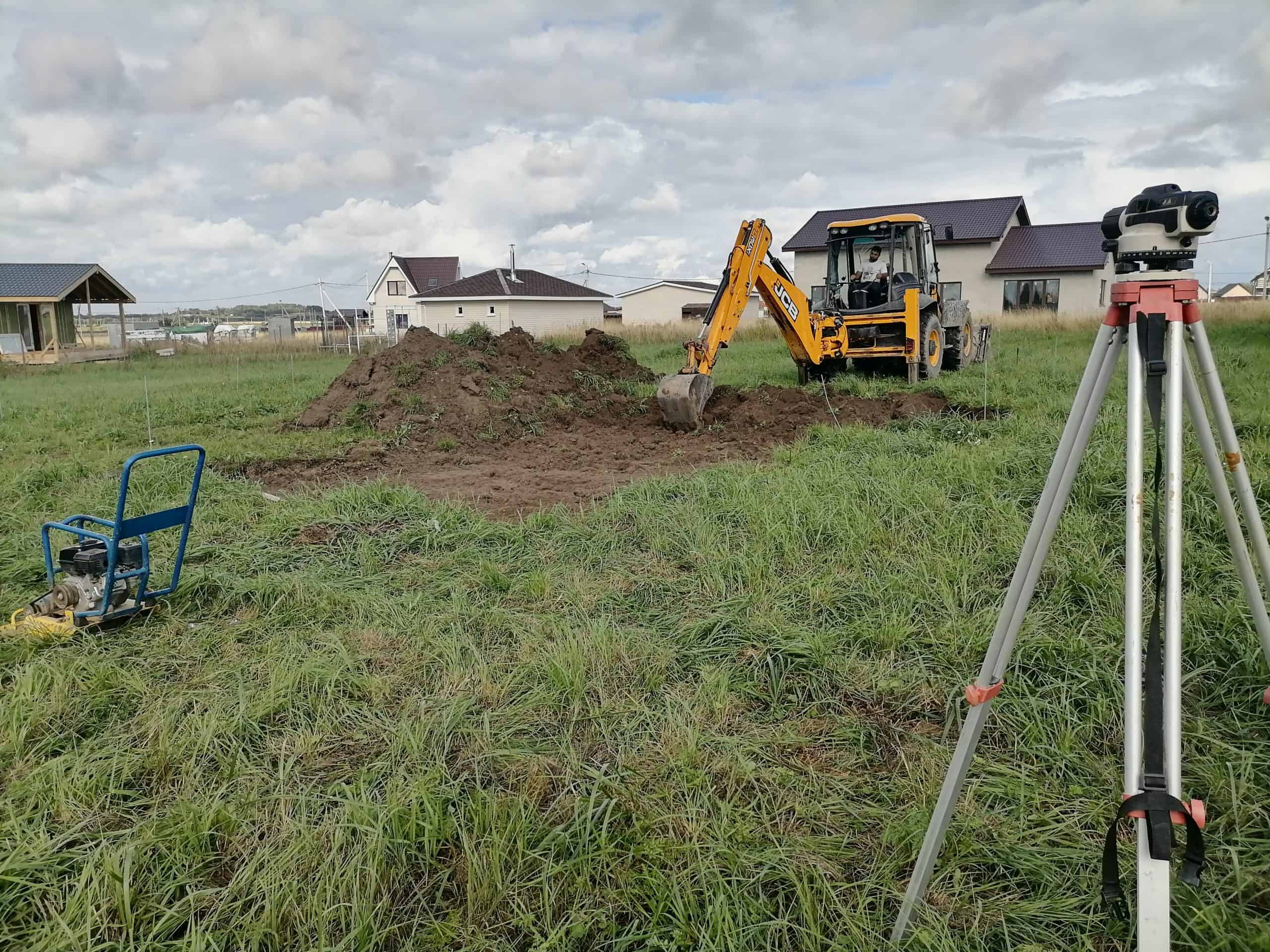 2021 Выполняем заливку фундамента 118м² в посёлке «Аннино»