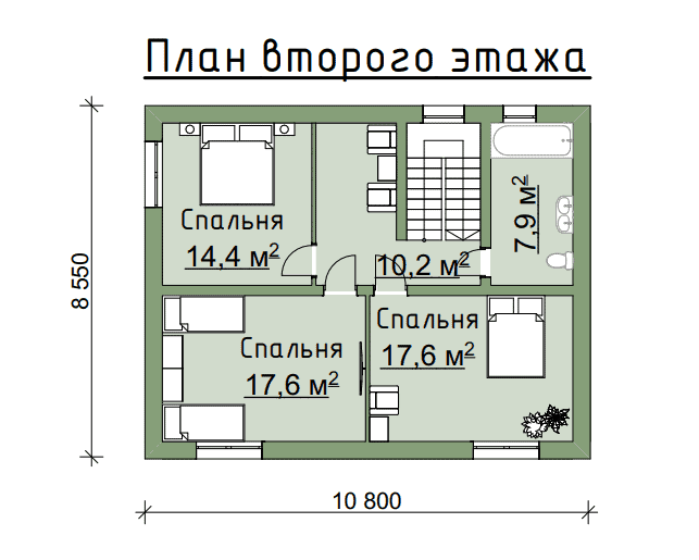 Строительство дома из газобетона в посёлке «Ропша»